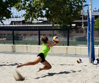 Defensa voley playa