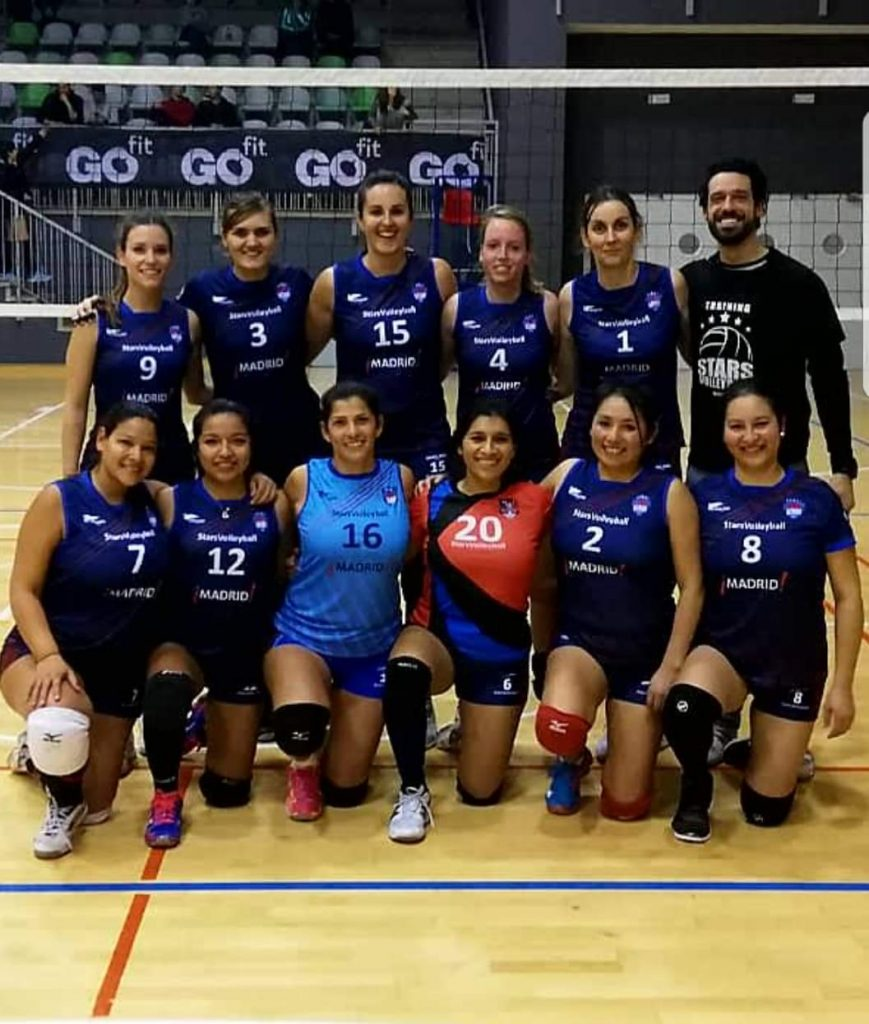 Feel Stars Volleyball Madrid