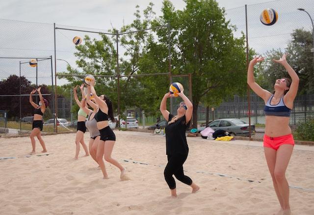 Escuela voley playa nivel inicial en madrid