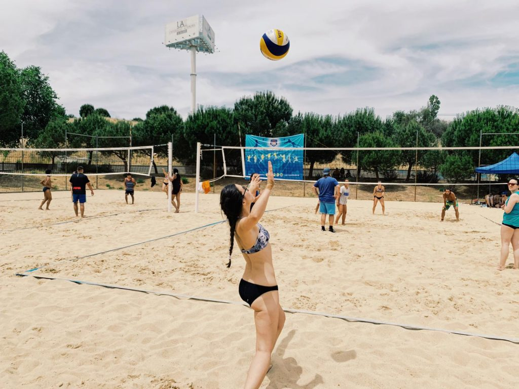 VOLEY PLAYA Mixto en Madrid