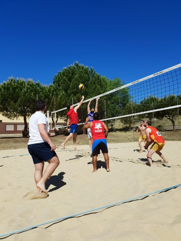 voley playa en madrid