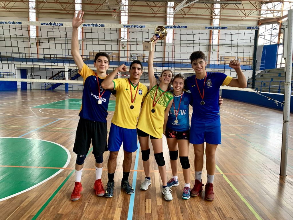 Liga Mixta Voleibol Madrid