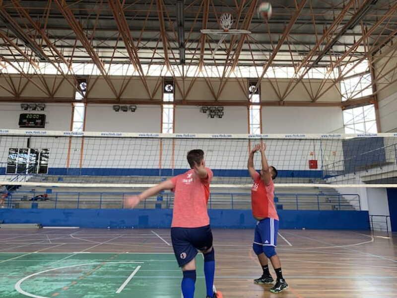 Ataque central voleibol